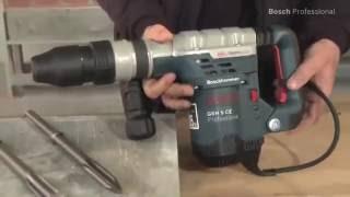 Burineur piqueur SDS Max Bosch GSH 5 CE - Guedo Outillage
