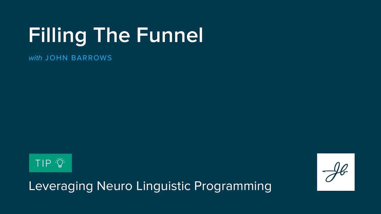 Leveraging Neuro Linguistic Programming - YouTube