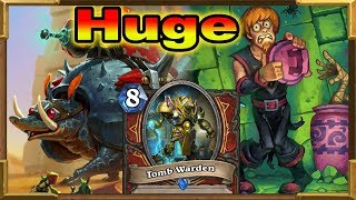 Hearthstone: 7 Mana 22/26 Taunt Rush Mech   Huge Taunt Warrior Is Broken   Saviors Of Uldum New