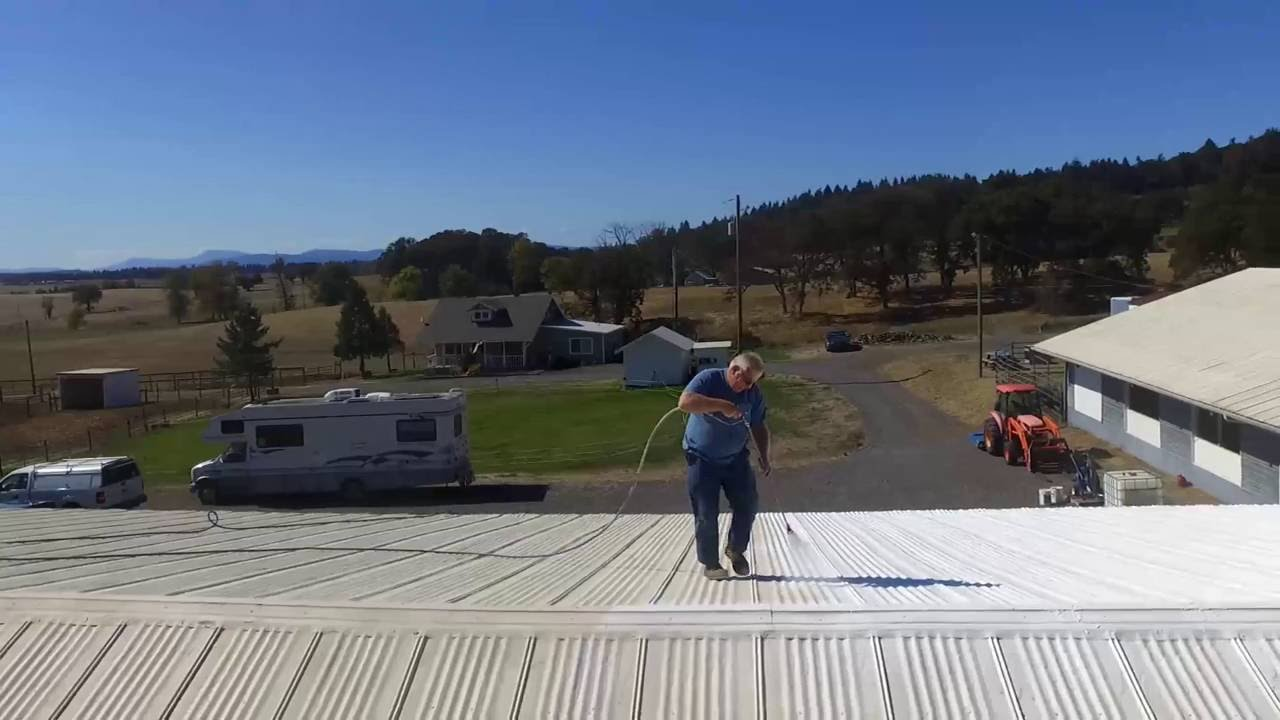 How To Waterproof A Metal Roof Using Ames® Maximum Stretch™