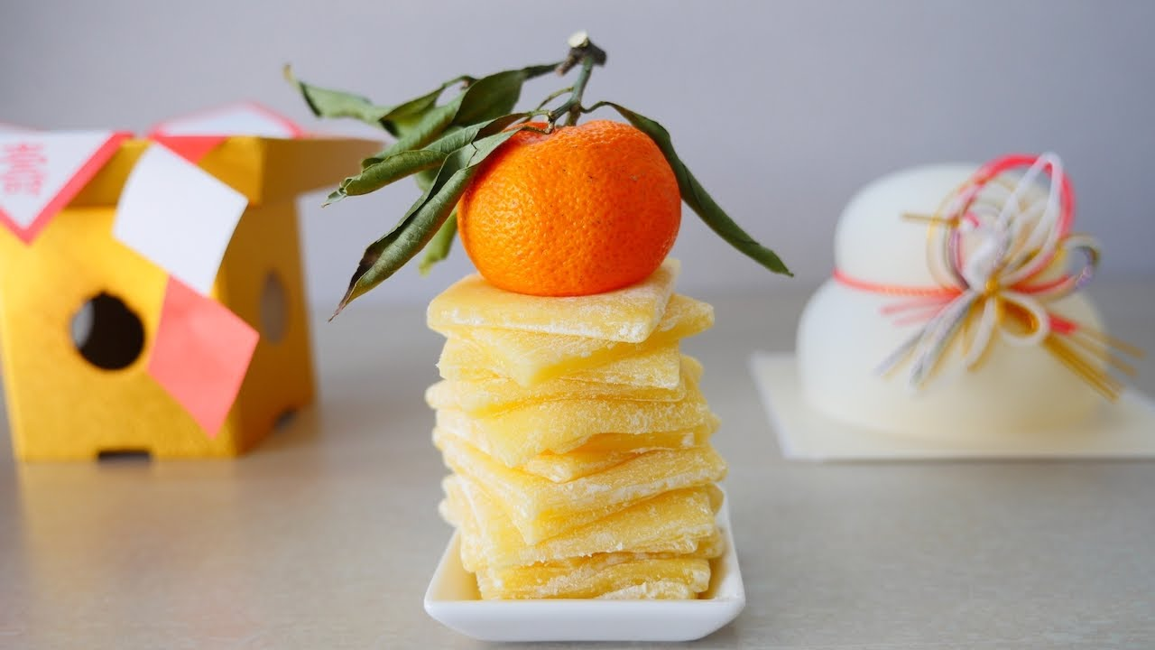鏡開き バター餅 Kagamibiraki Butter Mochi ( Rice Cake )
