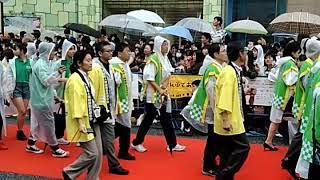 島ぜんぶでおーきな祭のイベント、国際通りレッドカーペットを見学して...