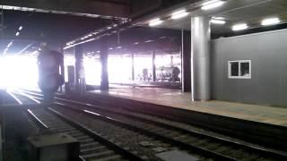 시멘트 화물열차 서울역 통과영상