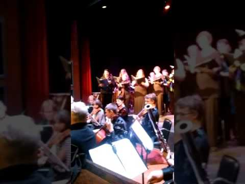 A small sample- Cochise College Hallelujah Chorus, from part 1 of The Messiah performance