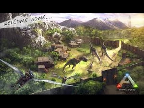 Ark Survival Evolved (Co-op with Ryan, Kevin, and Simon) Part 4: FRIEND TIME!!