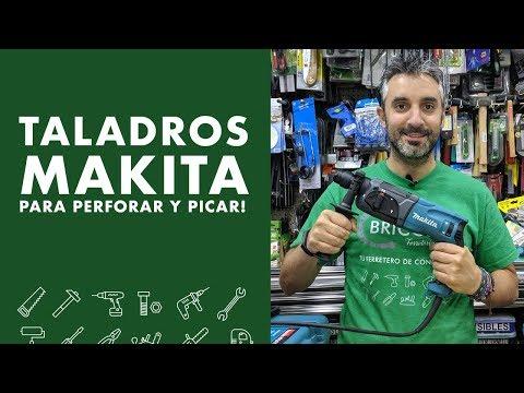 Taladros Makita para perforar y picar!