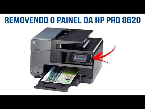 Removendo o Painel da HP 8620