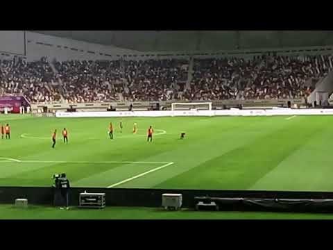 Foodball Skills in khalifa stadium in doha