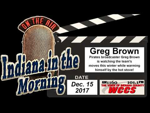 Indiana in the Morning Interview: Greg Brown (12-15-17)