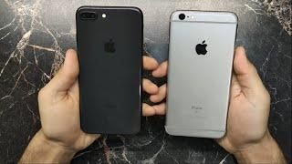 iPhone 8 Plus vs iPhone 6S Plus iOS 14 Speed Test