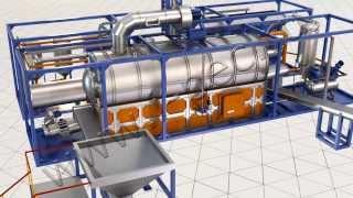 Установка термической деструкции (УТД-2). Пиролиз(Установка термической деструкции для переработки углеводородного сырья (пиролиз). Уникальная технология..., 2014-02-19T11:28:24.000Z)