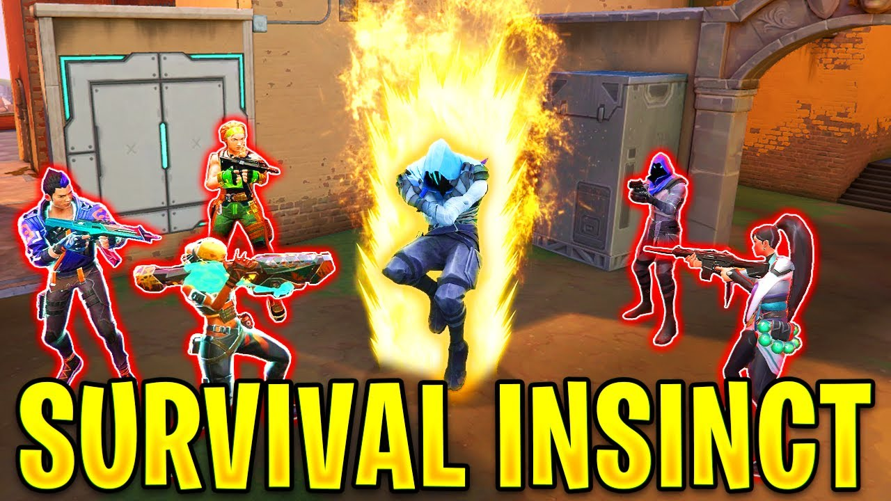 When Valorant Players use SURVIVAL INSTINCT to Dominate Games!