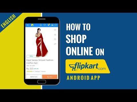 Flipkart mobile app how to shop online english for Shop online mobili