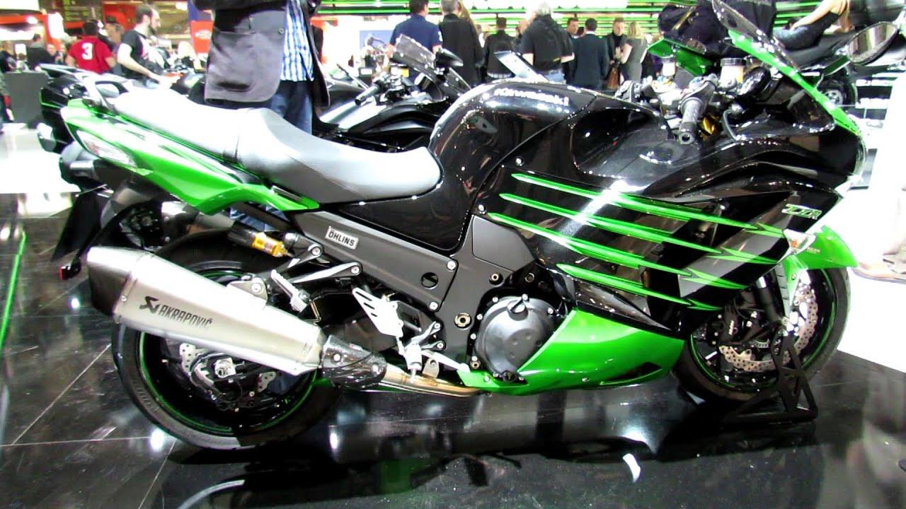 2014 Kawasaki ZZR 1400 Walkaround - 2013 EICMA Milan ...