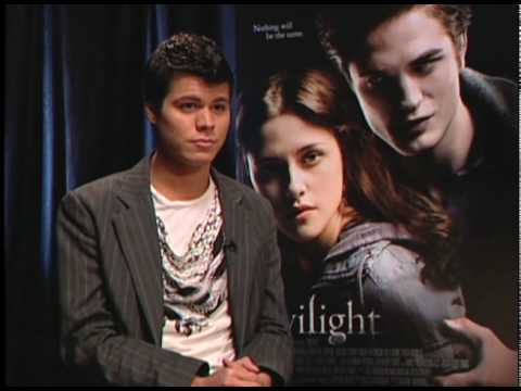 'Twilight'  with Taylor Lautner and Edi Gathegi