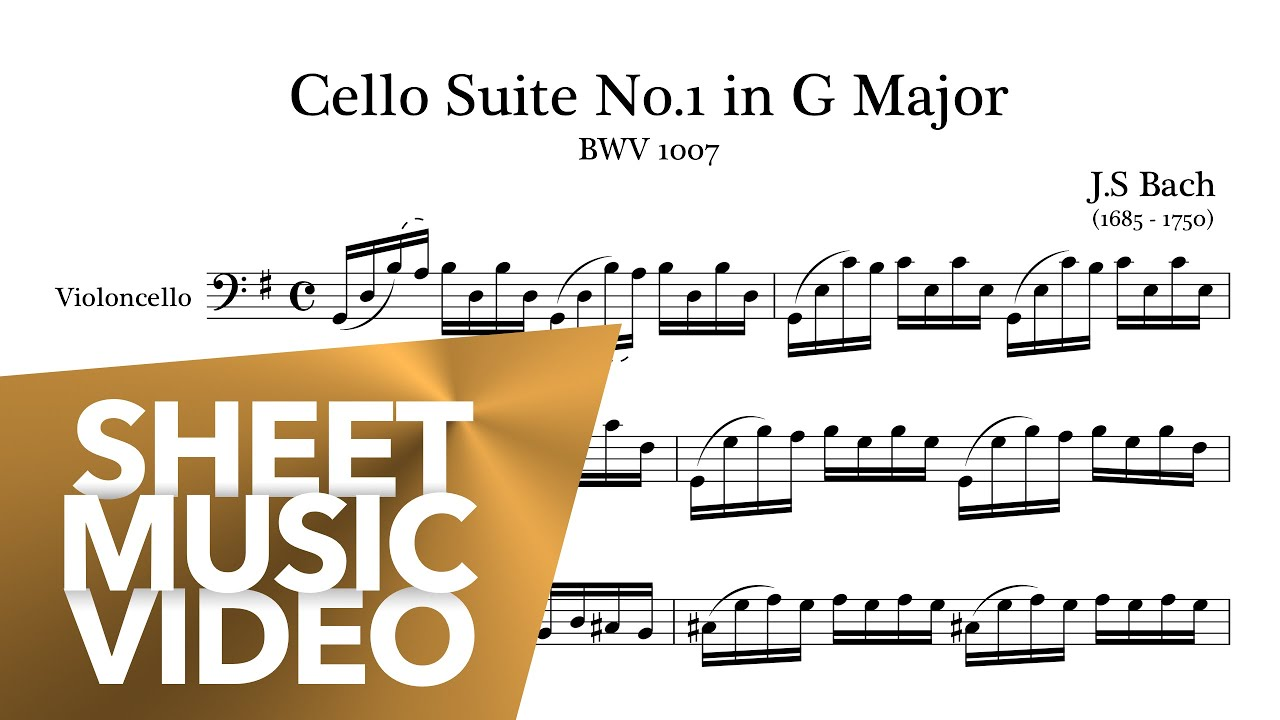 Mischa Maisky Bach Cello Suite No1 In G Major Bwv1007 Full