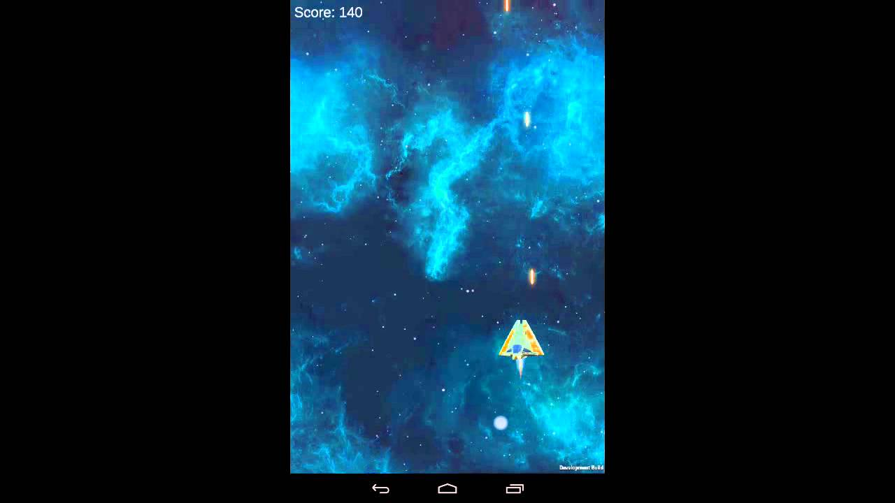 Space shooter unity d game build to android youtube