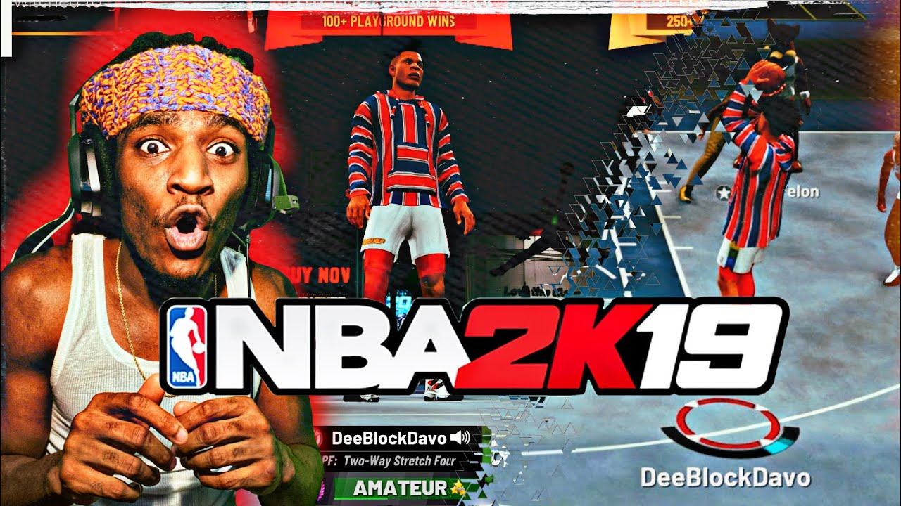I went back to NBA 2K19 a WHOLE YEAR LATER and this happend...