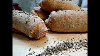 Домашний хлеб с итальянским шармом! Ну очень вкусно!