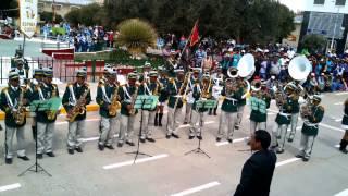 I E Teniente Coronel Pedro Ruiz Gallo Espinar Cusco concurso de Bandas Escolares 2014