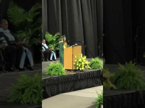 Elizabeth Singleton - 2017 Valedictorian - West Florence High School