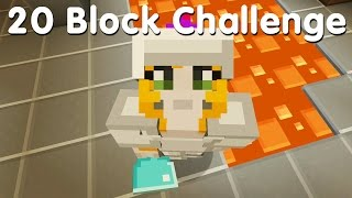 Minecraft PS4 - 20 Block Challenge - Hello My Beauties (25)