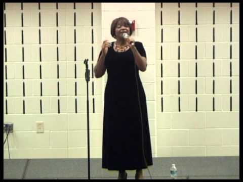 Carolyn Mitchell at Raleigh First Baptist  of praise