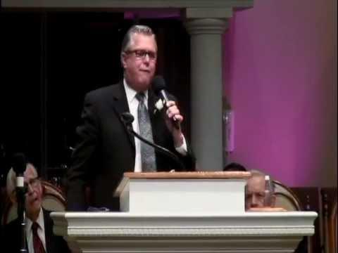 Rev. Wayne Huntley Preaching Bishop O.R. Fauss's Funeral
