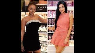 Kylie Jenner vs  Rihanna   Who Does Better Makeup