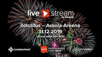 Ilotulitus Askola-Areena