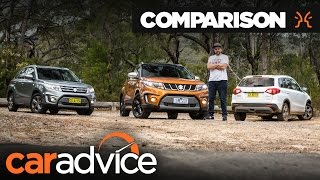 Comparison: 2016 Suzuki Vitara Range Review | CarAdvice