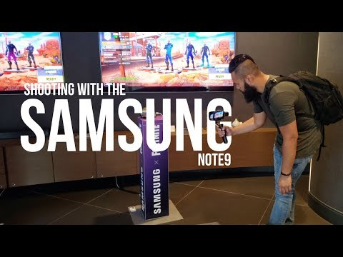 3 Things I LOVE about my Note 9 | Samsung x Fortnite Event