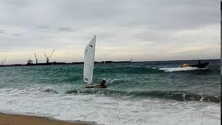 Arribada a platja Jordiet Sabater
