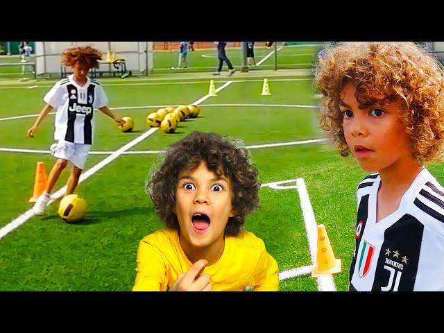 Il mio primo allenamento a calcio per bambini *Football Kids* con Calma di Daddy Yankee Music