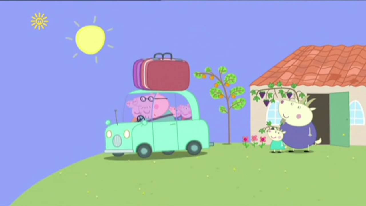 Peppa Pig - The End of the Holiday (39 episode / 4 season) [HD]