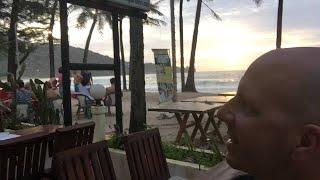 Kamala beach sunset live