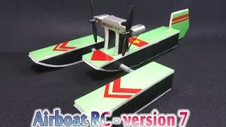 [Tutorial] How to make a Airboat RC - version 7