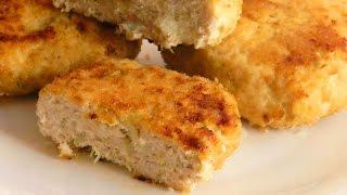 Куринные Котлетки с Капустой кулинарный видео рецепт