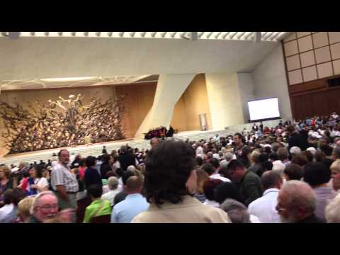 Rome Vatican audience with the Pope