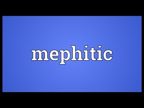 Header of mephitic