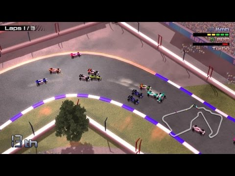 Grand Prix Rock 'N Racing Preview and Gameplay (Xbox One)