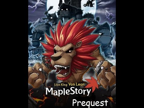 Maplestory Von leon Prequest 2017