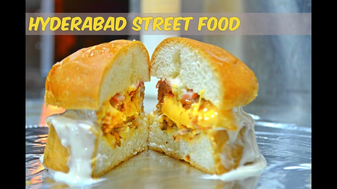 Burger The Burger Chefs Hyderabad Street Food