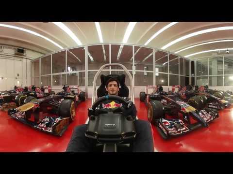 Hungarian GP - Carlos Sainz 360 hotlap - Scuderia Toro Rosso