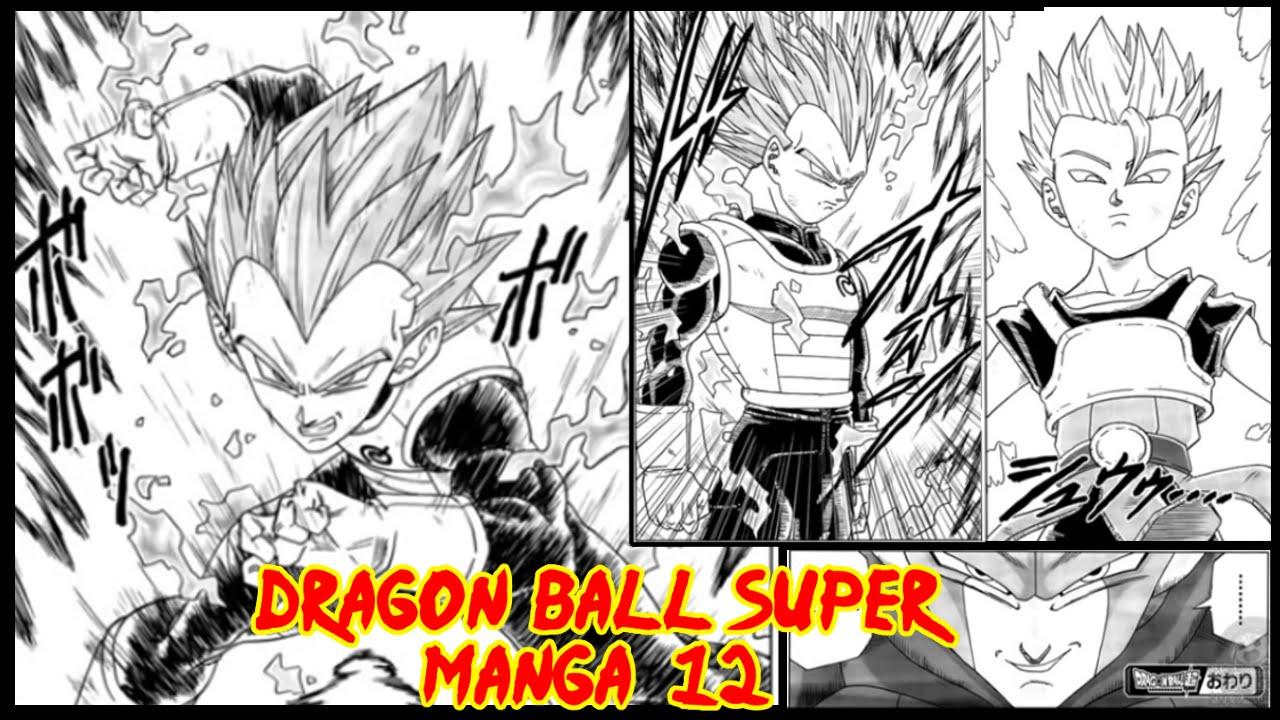Dragon Ball Super Manga 12 Vegeta Vs Hit Y Kyabe Vegeta El Maestro