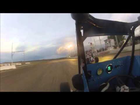 RMLSA 2014 I 76 Speedway 6 21 14 Main Event Paul Babich