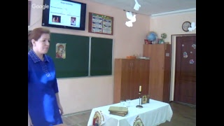 Открытый урок «Православная молитва» в 4 классе.