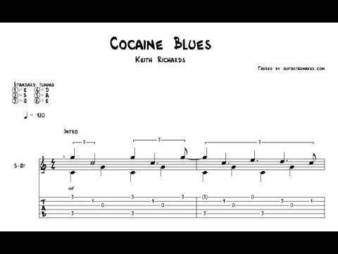 Cocaine Blues TAB - acoustic fingerpicking guitar tab - PDF - Guitar Pro