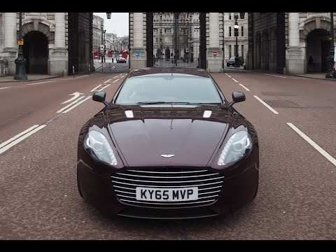 Luxury Car Review: Aston Martin Rapide S 2016