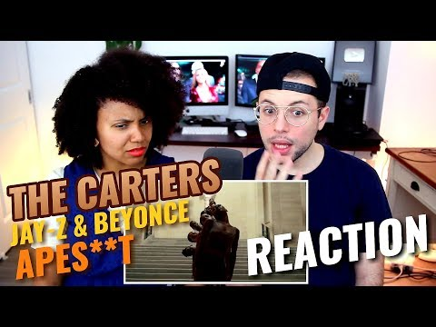 THE CARTERS (JAY-Z & Beyonce) - APES**T  | REACTION